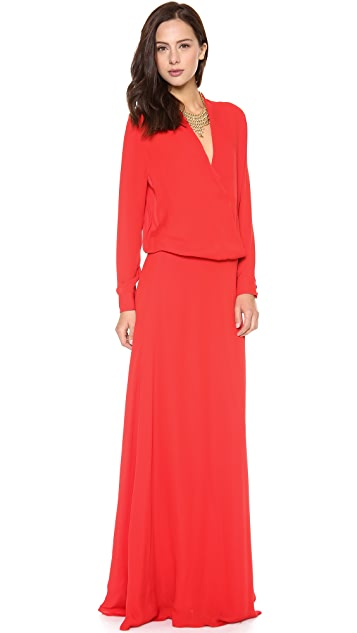 Michelle Mason Wrap Gown