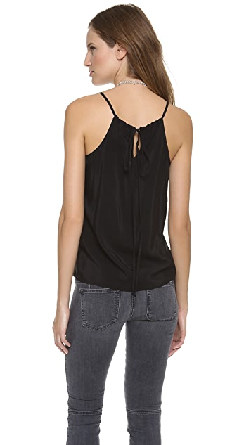 Michelle Mason Leather Camisole