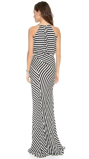 Michelle Mason Bias Gown