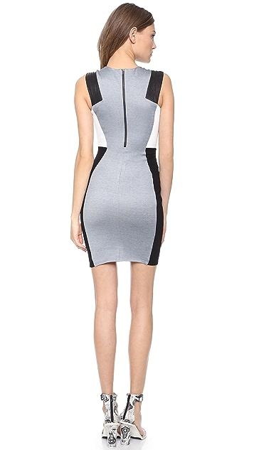 Michelle Mason Combo Tank Dress