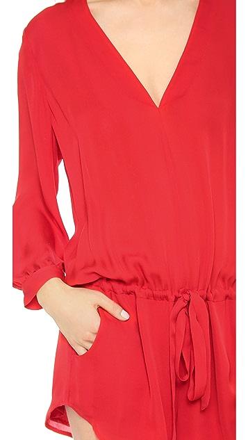 Michelle Mason Long Sleeve Romper