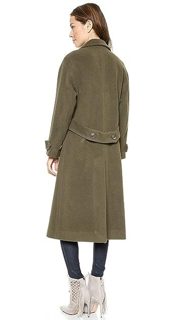 Michelle Mason Oversized Maxi Coat