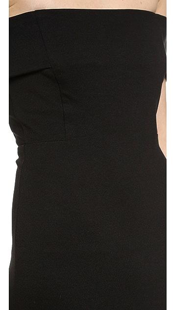 Michelle Mason Off Shoulder Dress