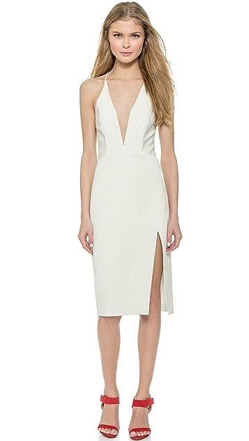 fc26b28e615 Michelle Mason Deep V Dress