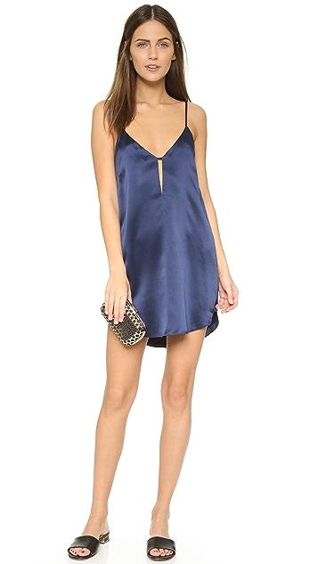 Michelle Mason Slip Mini Dress