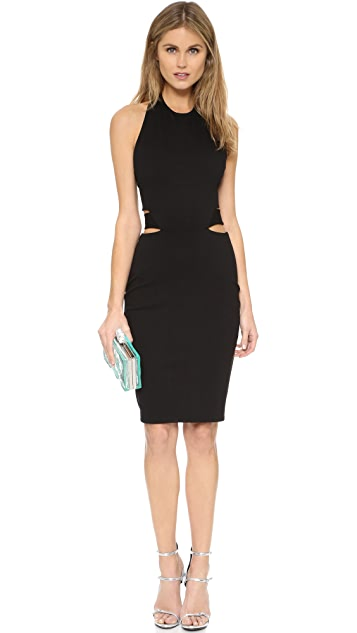 Michelle Mason Halter Band Dress