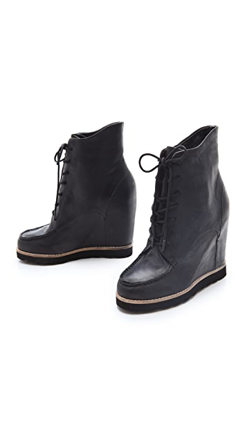 Matiko Cooper Lace Up Booties