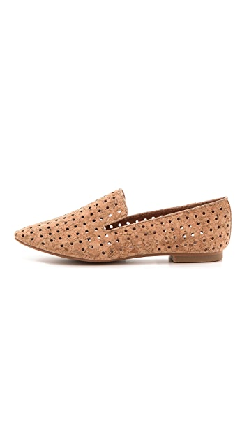Matiko Lilo Cork Perforated Loafers