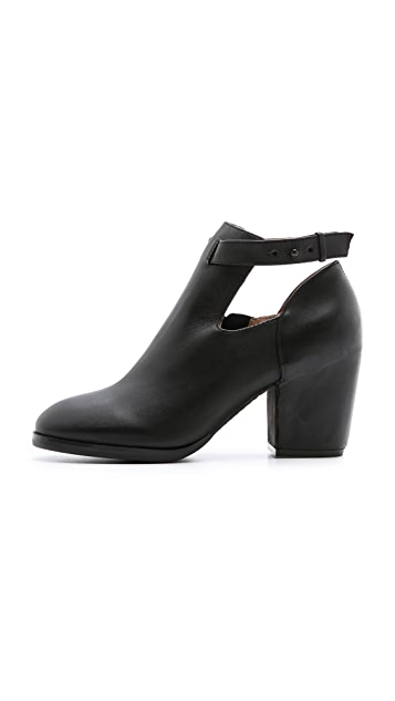 Matiko Sawyer Ankle Strap Booties