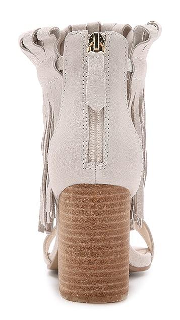 a06cf9b52325 ... Matiko Morgan Fringe Suede Sandals ...