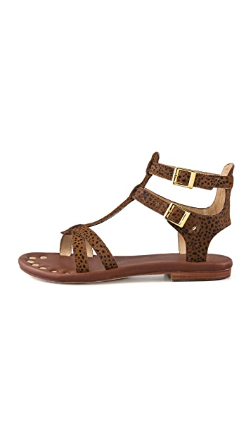 Matt Bernson KM Haircalf Gladiator Sandals