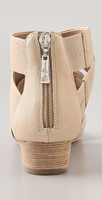 Matt Bernson Delphine Demi Wedge Sandals
