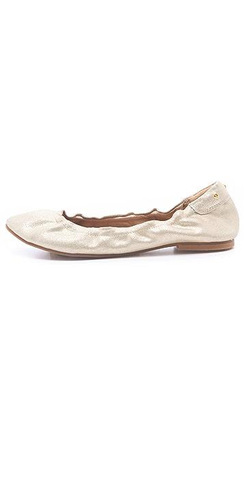 Matt Bernson Waverly Metallic Ballet Flats