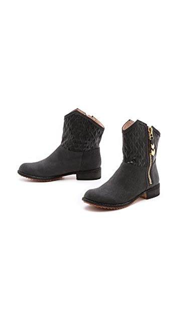 Matt Bernson Gotham Embossed Booties