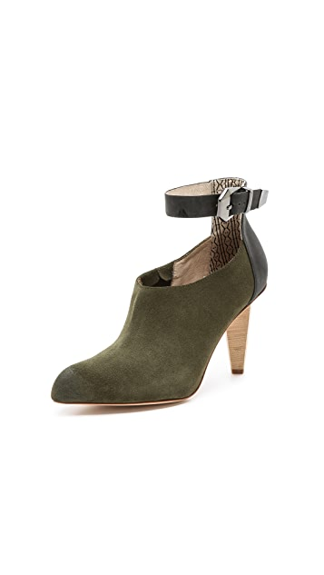 Matt Bernson Saint Honore Suede Booties