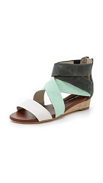 Matt Bernson Dephine Demi Wedge Sandals