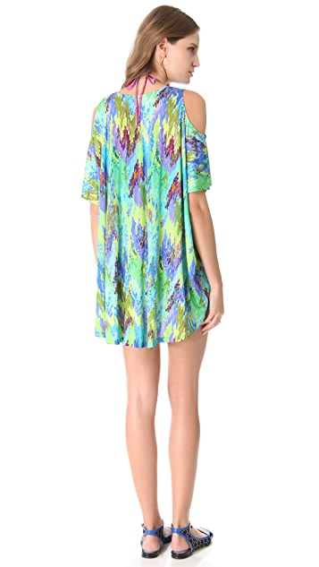 Matthew Williamson Escape Digital Blossom Cover Up