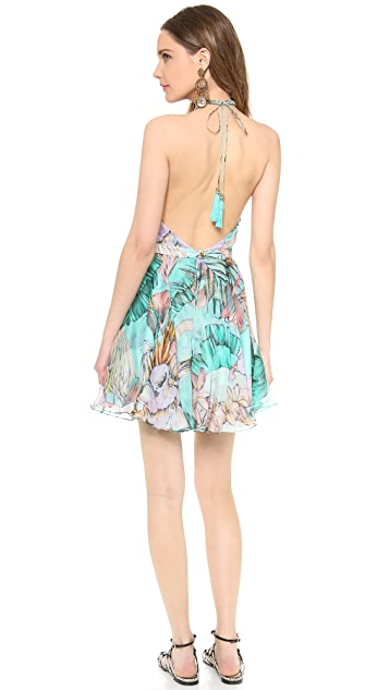 Matthew Williamson Escape Circle Skirt Dress