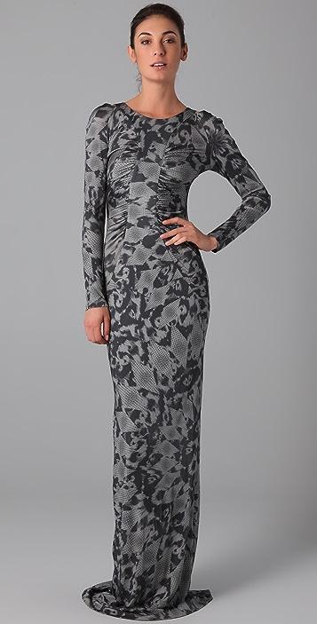 Matthew Williamson Keyhole Column Dress