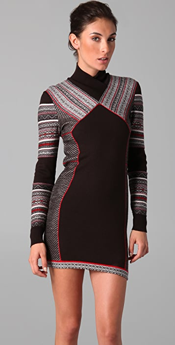 Matthew Williamson Inuit Paneled Dress