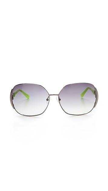 Matthew Williamson Metal Sunglasses