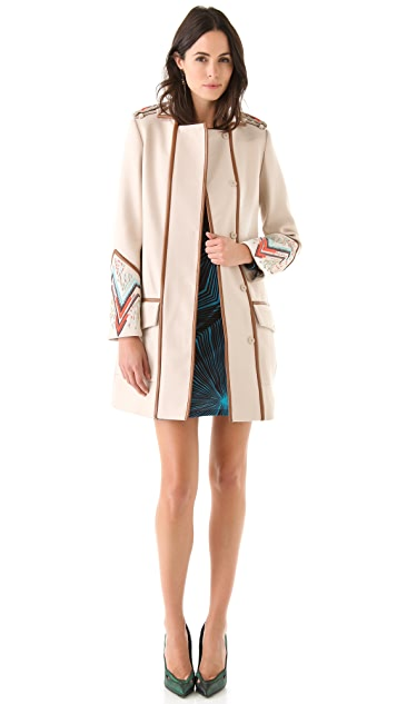 Matthew Williamson Military Coat