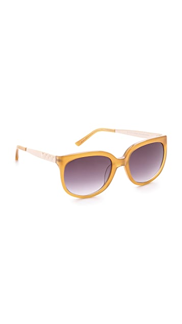 Matthew Williamson Oversized Sunglasses
