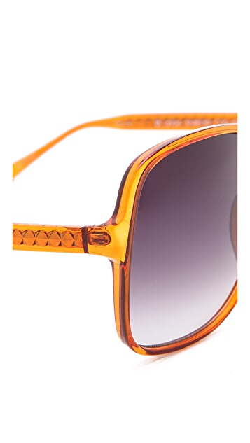 Matthew Williamson Oversized Square Sunglasses