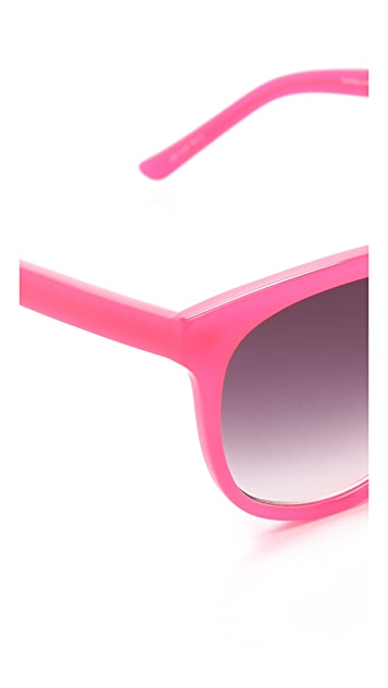 Matthew Williamson Bright Acetate Sunglasses