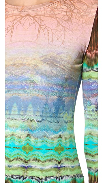 Matthew Williamson Mixed Print Tee