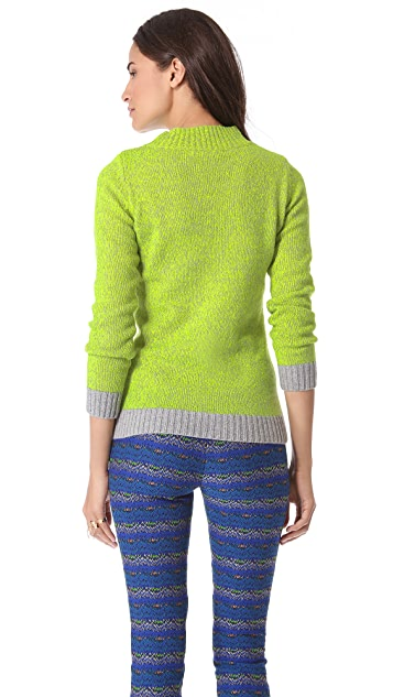 Matthew Williamson Marled Sweater