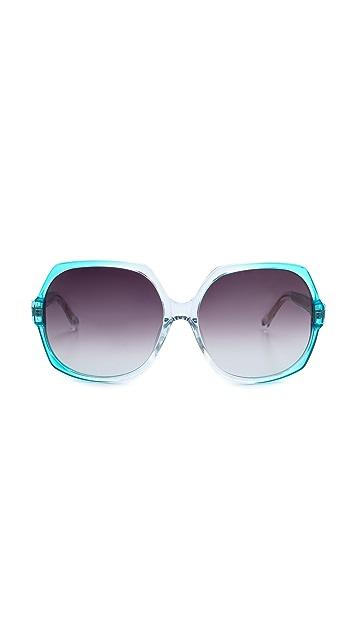 Matthew Williamson Gradient Frame Sunglasses