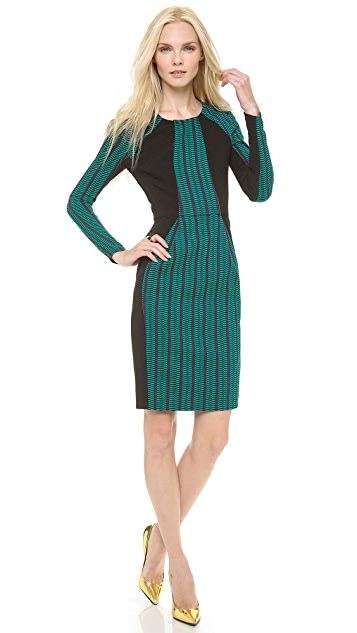 Matthew Williamson Paneled Shift Dress