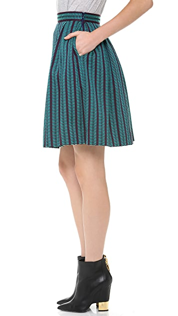 Matthew Williamson Box Pleat Skirt