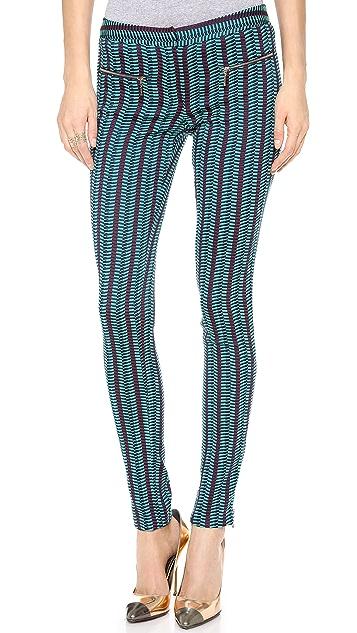 Matthew Williamson Jacquard Zippy Pants