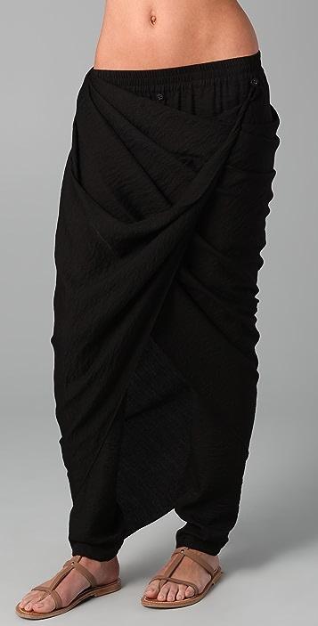 MAXAZRIA Micro Textured Pants / Jumpsuit