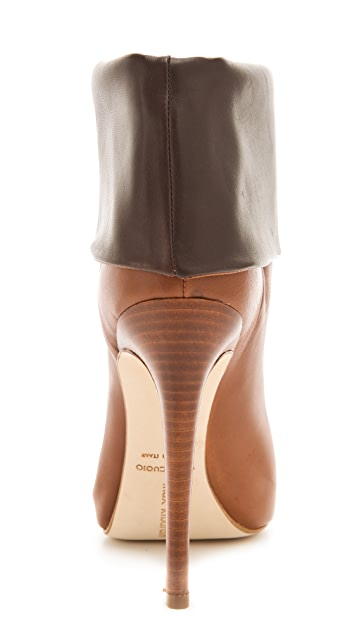 Max Kibardin Mallorca Boots with Contrast Cuff