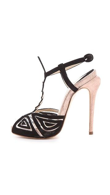 Max Kibardin Franca T-Strap Heels