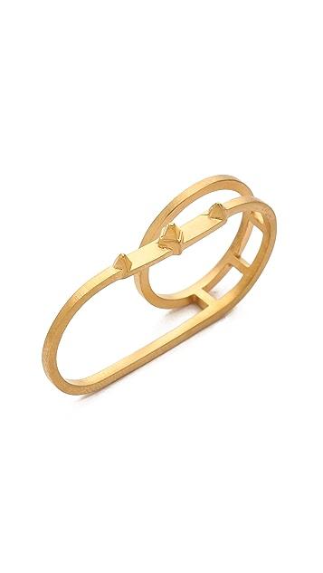 Maria Black Double Harper Ring