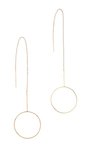 Maria Black Monocle Earrings