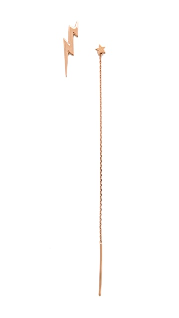 Maria Black Alladin Star Chain Earrings