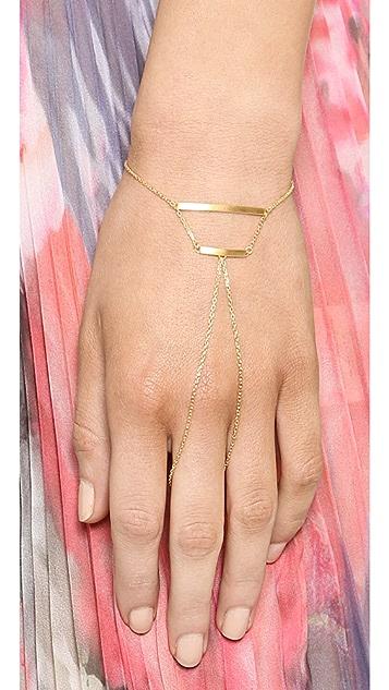 Maria Black Theo Finger Bracelet