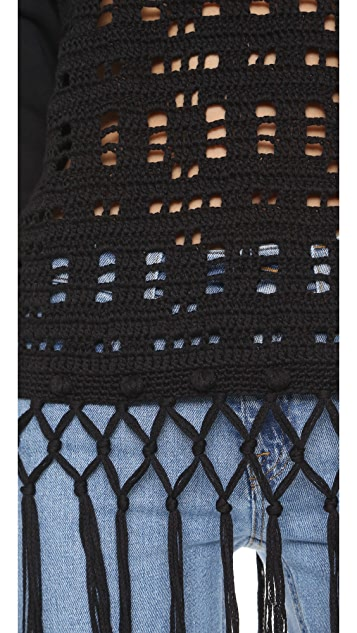 Michaela Buerger Donna Anna Crochet Pullover