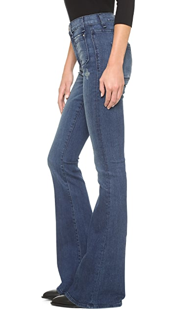 McGuire Denim The Principle Mid Rise Flare Jeans