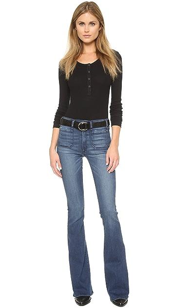 McGuire Denim Расклешенные джинсы Principle со средней посадкой