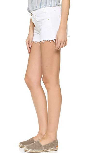 McGuire Denim Pom Pom Shorts