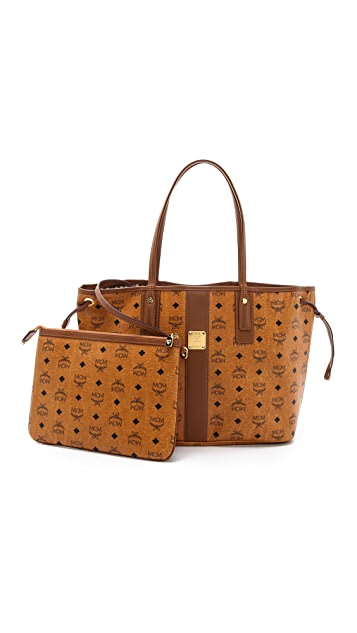 MCM Reversible Medium Shopper