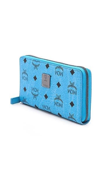 MCM Large Zipped Wallet