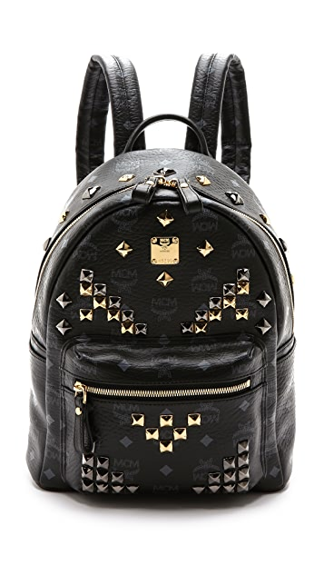 79f3cce2984d MCM Stark M Stud Small Backpack ...