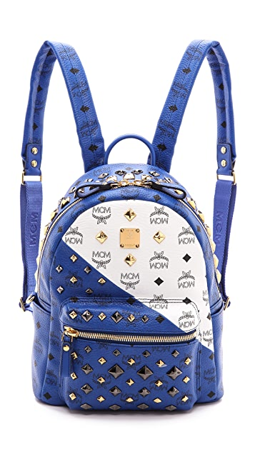 MCM Colorblock Small Backpack